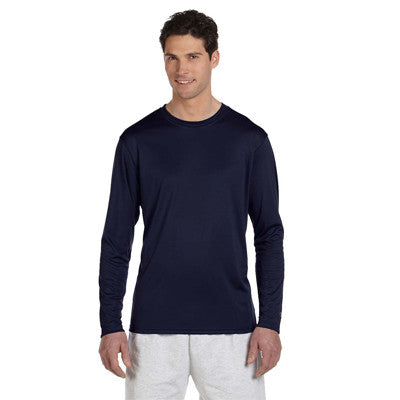 Champion Adult Double Dry Long-Sleeve Interlock T-Shirt - EZ Corporate Clothing  - 4