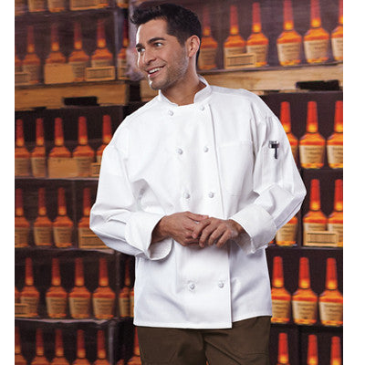 Classic Knot Chef Coat with Mesh - EZ Corporate Clothing  - 3