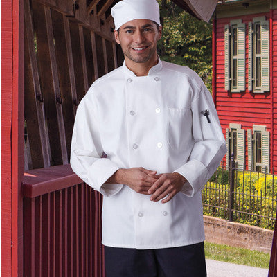 Classic Chef Coat with Mesh - EZ Corporate Clothing  - 3