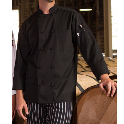 Classic Knot Chef Coat - EZ Corporate Clothing  - 3
