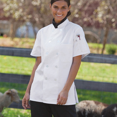 Tahoe Chef Coat for Women - EZ Corporate Clothing  - 3