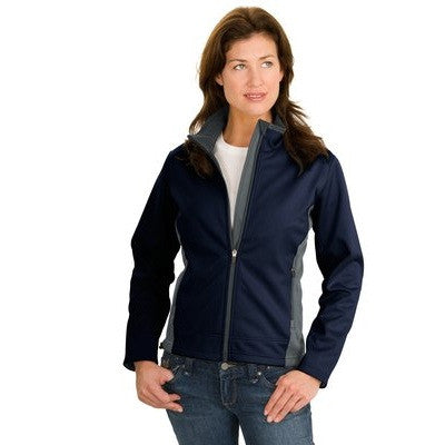 Port Authority Ladies Two-Tone Soft Shell Jacket - EZ Corporate Clothing  - 3