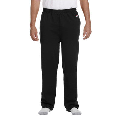 Champion Adult Open-Bottom Sweatpants With Pockets - EZ Corporate Clothing  - 4