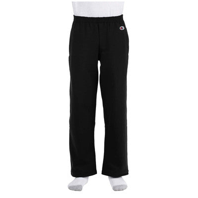 Champion Youth Open-Bottom Sweatpants - EZ Corporate Clothing  - 5