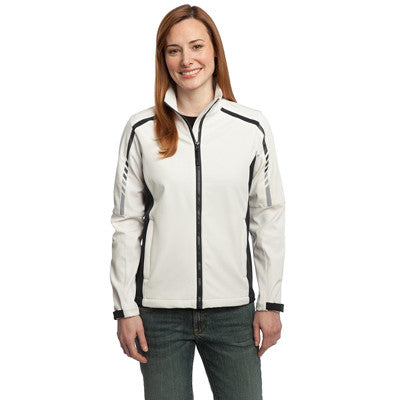 Port Authority Ladies Embark Soft Shell Jacket - EZ Corporate Clothing  - 3