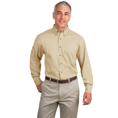 Port Authoriy Twill Shirt - Longsleeve - EZ Corporate Clothing  - 7