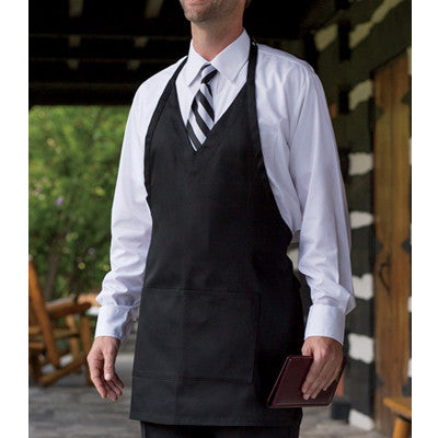 Custom Formal V-Neck Apron - EZ Corporate Clothing  - 2