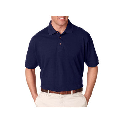 UltraClub Tall Classic Pique Polo - EZ Corporate Clothing  - 4