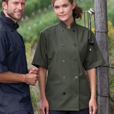 South Beach Chef Coat - EZ Corporate Clothing  - 4