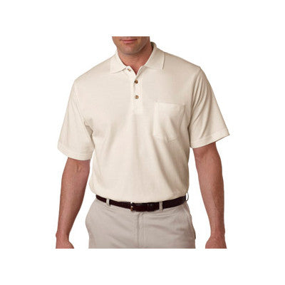 UltraClub Classic Pique Polo with Pocket - EZ Corporate Clothing  - 10