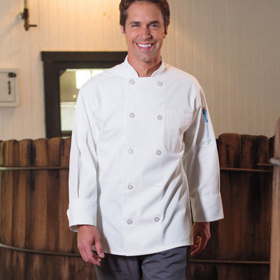 Classic Chef Coat - EZ Corporate Clothing  - 2
