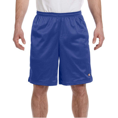 Champion Long Mesh Shorts With Pocket - EZ Corporate Clothing  - 6