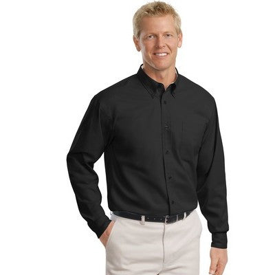 Port Authority Easy Care Tall Long Sleeve Shirt - EZ Corporate Clothing  - 4