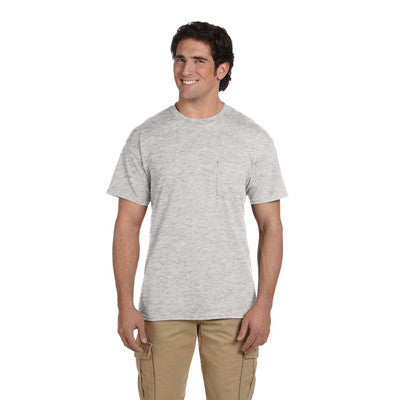 Gildan Adult DryBlend T-Shirt with Pocket - EZ Corporate Clothing  - 4