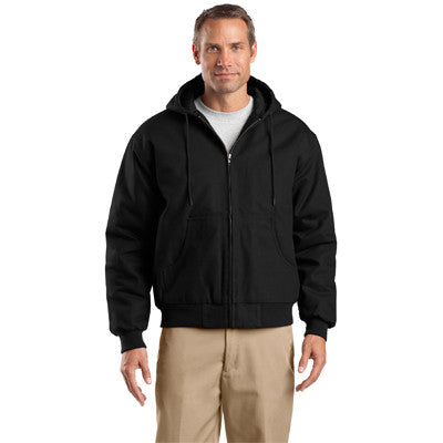 Cornerstone Duck Cloth Hooded Work Jacket - EZ Corporate Clothing  - 2