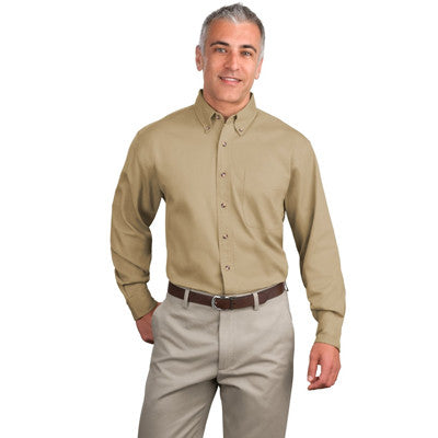 Port Authoriy Twill Shirt - Longsleeve - EZ Corporate Clothing  - 6