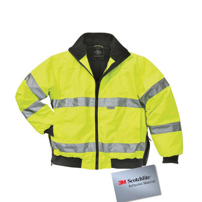 Charles River Signal Hi-Vis Jacket - EZ Corporate Clothing  - 3