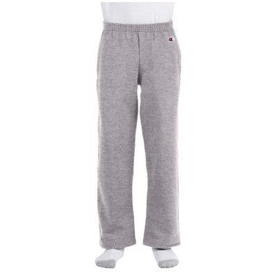 Champion Youth Open-Bottom Sweatpants - EZ Corporate Clothing  - 4
