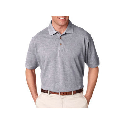 UltraClub Tall Classic Pique Polo - EZ Corporate Clothing  - 3