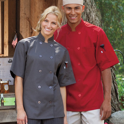 South Beach Chef Coat - EZ Corporate Clothing  - 5