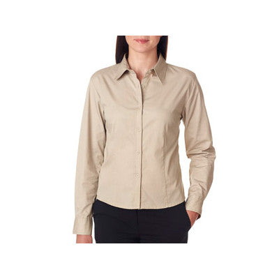 UltraClub Ladies Whisper Twill Shirt - EZ Corporate Clothing  - 9