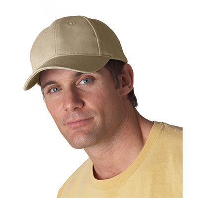 Anvil Solid Brushed-Twill Cap - EZ Corporate Clothing  - 3