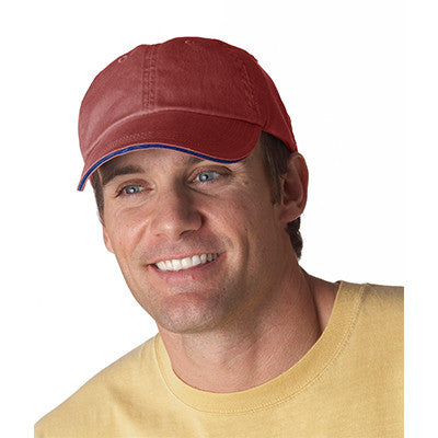 Anvil Solid Pigment-Dyed Twill Sandwich Cap - EZ Corporate Clothing  - 6