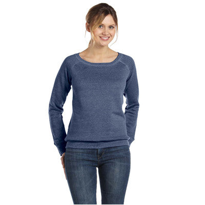 Bella Ladies 8.2Oz. Triblend Slouchy Wide Neck Fleece - EZ Corporate Clothing  - 6