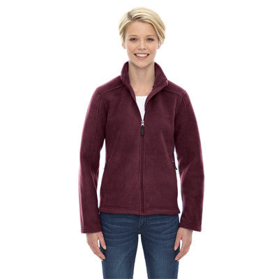 Ladies Journey Core365 Fleece Jacket - EZ Corporate Clothing  - 3