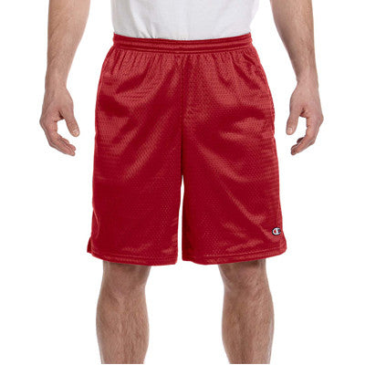 Champion Long Mesh Shorts With Pocket - EZ Corporate Clothing  - 9
