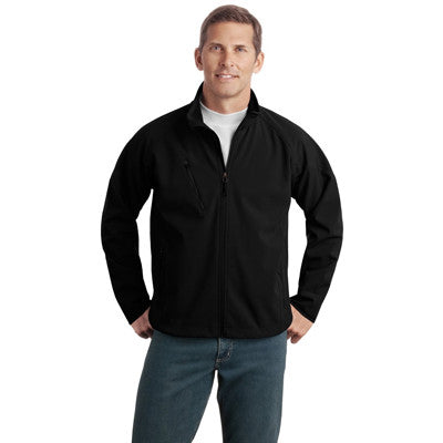 Port Authority Tall Textured Soft Shell Jacket - EZ Corporate Clothing  - 2