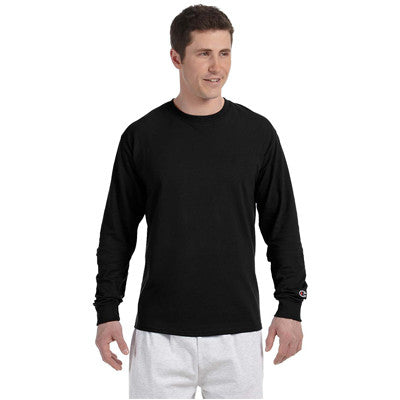 Champion Adult Tagless Long-Sleeve T-Shirt - EZ Corporate Clothing  - 5