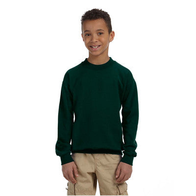 Gildan Youth Heavyweight Blend Crewneck - EZ Corporate Clothing  - 3