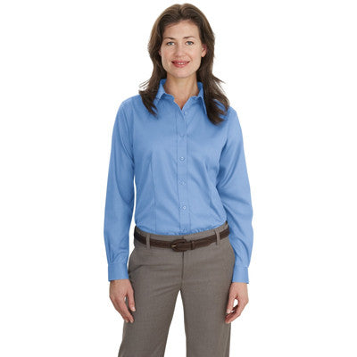 Port Authority Ladies Long-Sleeve Non-Iron Twill Shirt - EZ Corporate Clothing  - 5