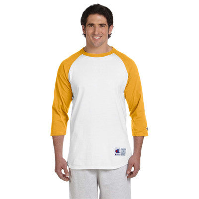 Champion 6.1oz. Tagless Raglan Baseball T-Shirt - EZ Corporate Clothing  - 13