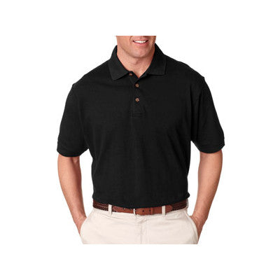 UltraClub Tall Classic Pique Polo - EZ Corporate Clothing  - 2