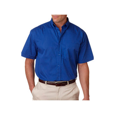 UltraClub Short-Sleeve Whisper Twill Shirt - EZ Corporate Clothing  - 6
