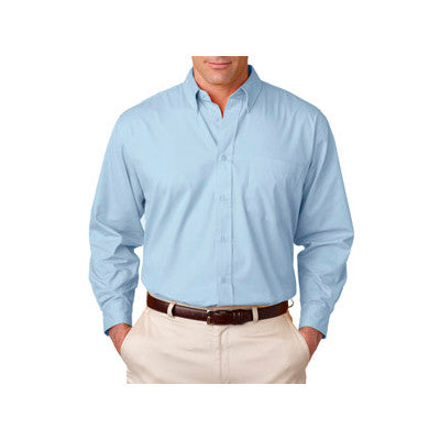 UltraClub Mens Whisper Twill Shirt - EZ Corporate Clothing  - 9