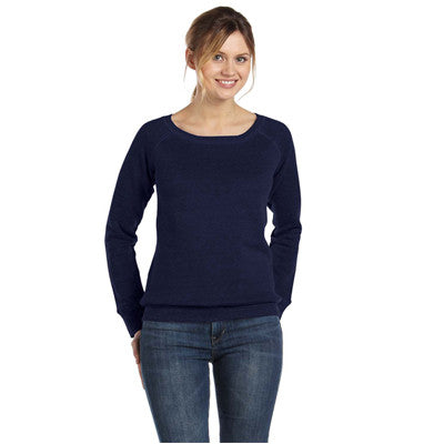 Bella Ladies 8.2Oz. Triblend Slouchy Wide Neck Fleece - EZ Corporate Clothing  - 12