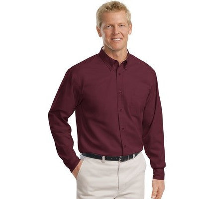 Port Authority Easy Care Tall Long Sleeve Shirt - EZ Corporate Clothing  - 6