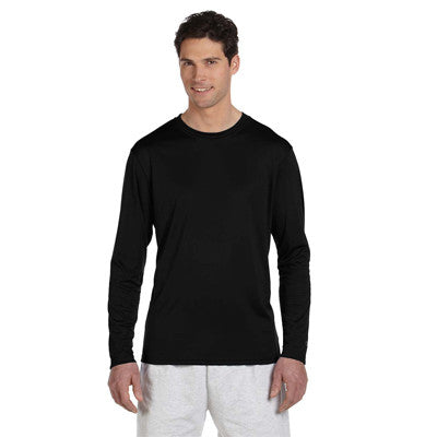 Champion Adult Double Dry Long-Sleeve Interlock T-Shirt - EZ Corporate Clothing  - 5