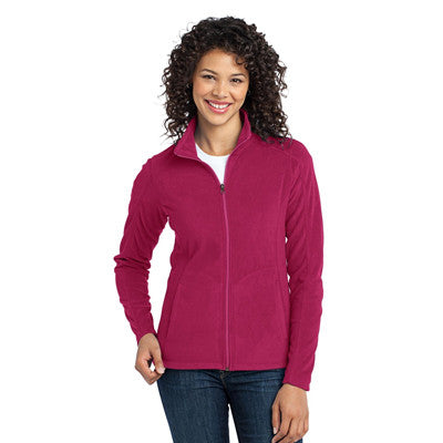 Port Authority Ladies MicroFleece Jacket - EZ Corporate Clothing  - 4