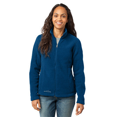 Eddie Bauer Ladies Full-Zip Fleece Jacket - EZ Corporate Clothing  - 4