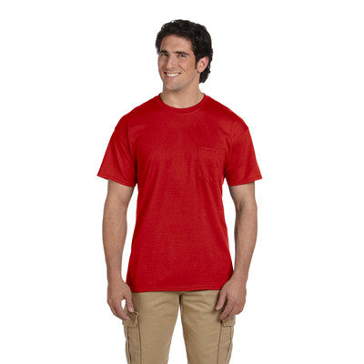 Gildan Adult DryBlend T-Shirt with Pocket - EZ Corporate Clothing  - 9