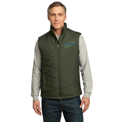 Port Authority Mens Puffy Vest - EZ Corporate Clothing  - 6