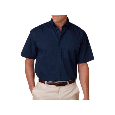 UltraClub Short-Sleeve Whisper Twill Shirt - EZ Corporate Clothing  - 5