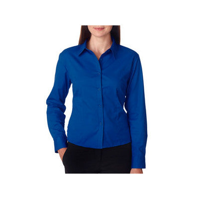 UltraClub Ladies Whisper Twill Shirt - EZ Corporate Clothing  - 7