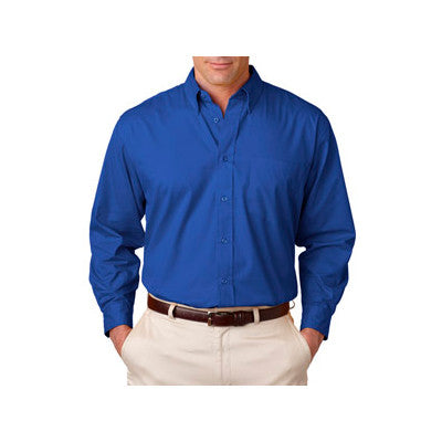 UltraClub Mens Whisper Twill Shirt - EZ Corporate Clothing  - 8