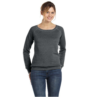Bella Ladies 8.2Oz. Triblend Slouchy Wide Neck Fleece - EZ Corporate Clothing  - 5