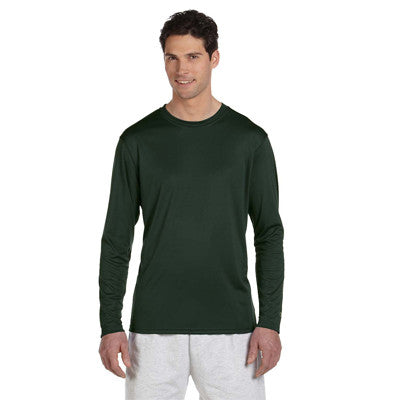 Champion Adult Double Dry Long-Sleeve Interlock T-Shirt - EZ Corporate Clothing  - 10